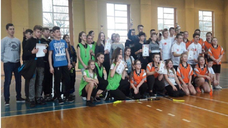 Turniej unihokeja szkół wiejskich powiatu krotoszyńskiego